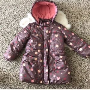 Other - Hoodie Jacket Snap Up Lined Puffer Sz 3-4 Years